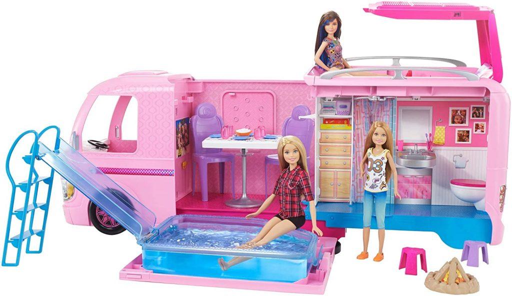 Diese Barbie Wohnwagen ist magisch und hält viele Überraschungen für Sie bereit !