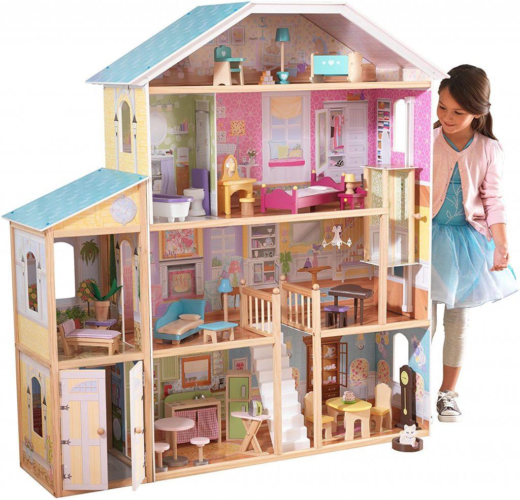 Das Kidkraft Puppenhaus Majestic ist eine Luxusvilla für Puppen.