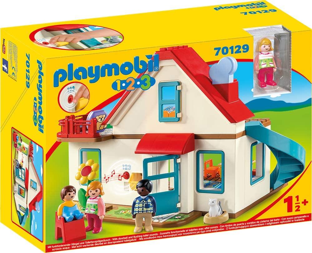 Das Playmobil haus 123 ist für Kinder ab 18 Monaten geeignet.