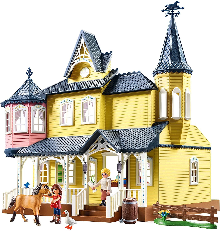 Playmobil lucky & spirit haus sieht aus wie ein Prinzessinnenschloss