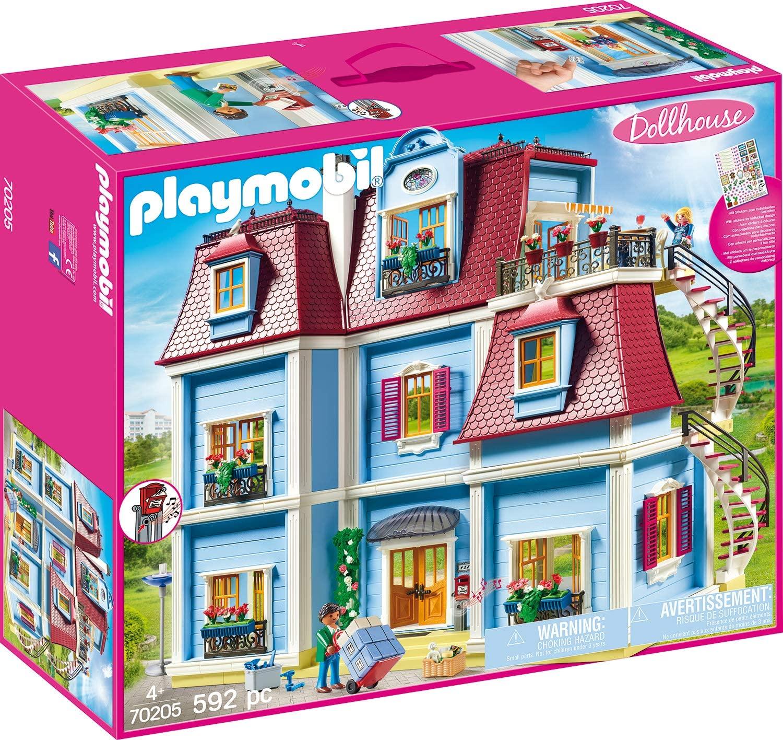 Das Playmobil 70205 puppenhaus ist ein Einfamilienhaus