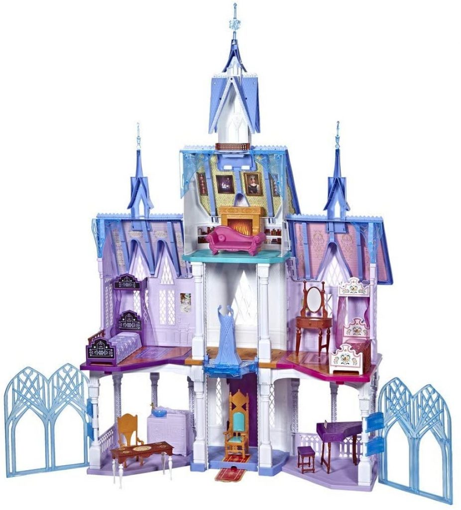 Das Elsa Schloss Arendelle ist mehr als 1,5 Meter hoch.