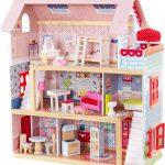 Das Kidkraft Puppenhaus holz Chelsea ist sehr farbenfroh.