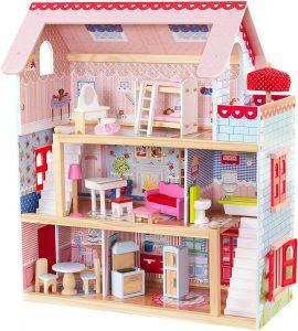 Puppenhaus holz Chelsea Kidkraft